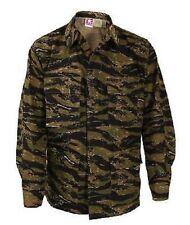 US Army Tigerstripe BDU Battle Dress coat shirt Jacke Tiger Stripe XXLarge Long