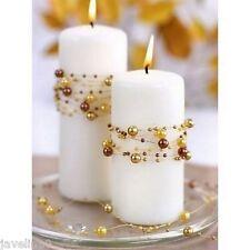 Guirlande De Perles Or Perles Décoration Table Mariage Baptême Fête  BK