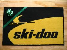 Ski-Doo Snowmobile Vintage Retro logo door mat TNT blizzard RV