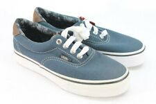 Vans Authentic Youth Boy's Navy Blue Canvas Lace Up Sneaker's 2M