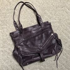 GUC Botkier Purple Leather Trigger Satchel, Handbag