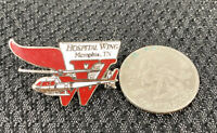 Vintage HOSPITAL WING OF MEMPHIS MEDICAL HELICOPTER Pin