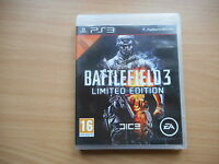 JEU PS3 - BATTLEFIELD 3 LIMITED EDITION - COMPLET