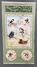 Baby Birds Hummingbirds May All Your Dreams Take Flight Fabric Panel Giordano