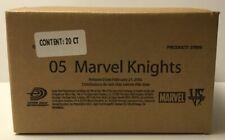 2005 VS SYSTEM MARVEL KNIGHTS BLISTER BOX / CASE - 20 PACKS OF 14 CARDS - SEALED