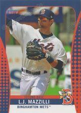 2016 Binghamton Mets LJ Mazzilli RC Rookie NY Minor League