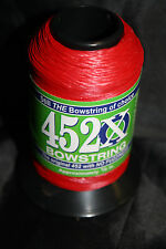 BCY 452X Bowstring Material 1/4lb Red  Bow String Making
