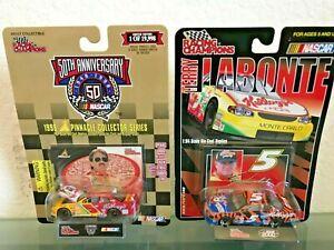 Terry Labonte Kelloggs #5 1998 2000 Nascar 1:64 Diecast Car - Set of 2