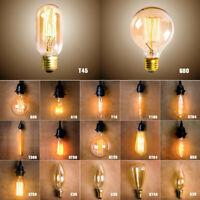 Vintage Retro LED Filament Light Bulbs 2W 6W 12W 16W E27 B22 E14 220V Lamp RC804