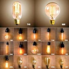 E27 40W Vintage Retro Edison Antique Industrial Style Filament Lamp Light Bulb