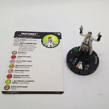 Heroclix Deadpool & X-Force set Fantomex #027 Uncommon figure w/card!
