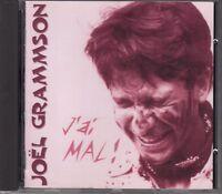 CD ALBUM JOEL GRAMMSON / J'AI MAL !