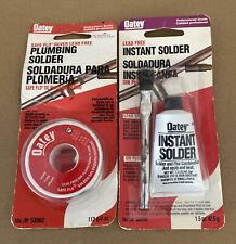Oatey Safe Flo Silver Lead Free Plumbing Solder 4 Oz 53062 Amp Instant Solder