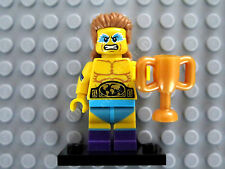 71011-14 COL241 RBB Lego Collection Mini Figure series 15 Wrestling Champion