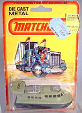 "Matchbox Superfast Nr. 2C Rescue Hovercraft avocado ""2000"" Aufkleber"