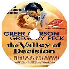 The Valley Of Decision (1945) Greer Garson Gregory Peck V Rare DVD