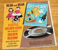 Little Golden Books: Little Boy With A Big Horn Read & Hear Record/Book 45Rpm