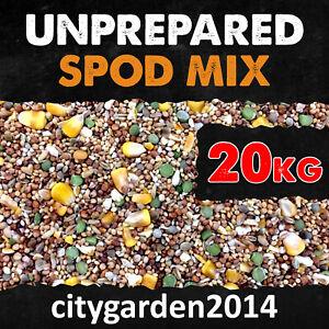 20kg Unprepared Spod / Particle Mix Containing Hemp, Maize & Mixed Seeds