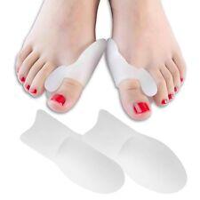 2 GEL Bunion Straightener Corrector Protector Splint Toe Spreader Cushion