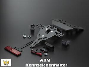 Abm Support de Plaque D'Immatriculation Kawasaki Ninja 300 R / ABS 300ccm EX300A