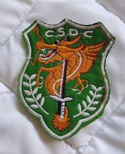 """ARVN NATIONAL POLICE FIELD FORCE """"CSDC"""" (Canh Sat Da Chien) patch"""