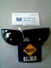 SMOKE LENS SAFETY GLASSES ~ ** FREE USA S&H **