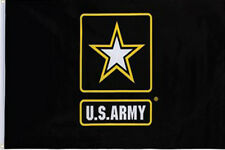 New listing Us Army 2x3 2'x3' Embroidered Flag United States Army 2 double sided Usa Seller