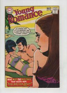 YOUNG ROMANCE #153 Fine+, vivid Tony Abruzzo cover, Howard Purcell art, DC 1968
