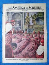 La Domenica del Corriere 25 gennaio 1953 San Pietro-I.Brusa,Milano -E.Lorenzetti