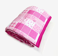 Adult Weighted Blanket - PINK PATCH PRINT - Helps to reduce insomnia and Anxiety