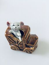 Retro Kitsch Mouse Ornament Foreign Japanese Truck