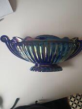 Salder Majestic Blue Lusterwear Vase