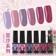 6 Colors 5ml Bean Purple Color CHE Gel UV LED Soak Off Nail Art Manicure RB#