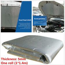 1.4m Car Engine Heat Mat Sound-Absorbing Pad Shield Noise Insulation Hood 5mm