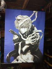 Japanese Anime Poster Wall Scroll lot of 4 Hellsing and others