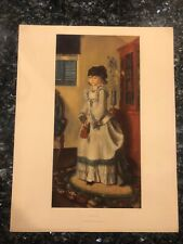 LADY JEAN BY GEORGE BELLOWS LIVING AMERICAN ART LITHOGRAPH VINTAGE PRINT