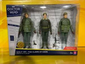Doctor Who - U.N.I.T. 1971 - The Claws of Axos Collector Figure Set