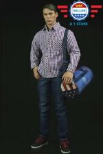 1/6 Captain America Shirt Jeans Bag Clothing Set for 12'' MALE Action Figure