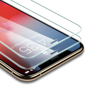 Screen Protector for iPhone Xs Max Tempered Glass Anti-Fingerprint & Scratches