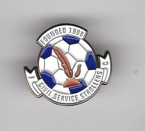 Civil Service Strollers ( Scottish Non League ) - lapel badge butterfly fitting