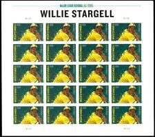 Willie Stargell Baseball Player Sheet of 20 Forever Postage Stamp Scott 4696