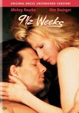 9 1/2 Weeks (DVD,1986)