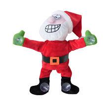 Père Noël dansant à la fenêtre 30cm Décoration de Noël Saint-Nicolas