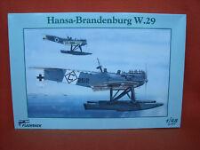 Flashback ® KLH 89 19 Hansa Brandenburg w.29 1:48 resin foto ätzt fretta PHOTO-etch
