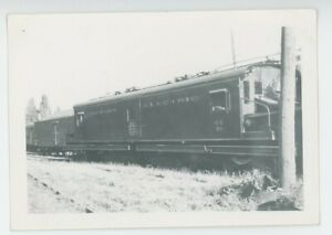 1943 Oregon Electric Railroad #50 Locomotive Engine Eugene OR Freight Station
