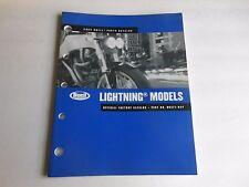 Buell Parts Catalog Lightning Models 2004 Official Factory Catalog # 99571-04Y