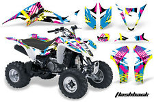 ATV Decal Graphic Kit Wrap For Suzuki LTZ400 Kawasaki KFX400 2003-2008 FLASHBACK