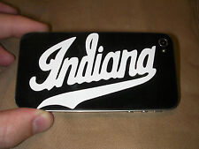 "IU ""Indiana"" University Script Cell Phone Decal Sticker Skin - BUY 2 GET 2 FREE!"