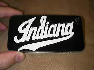"IU ""Indiana"" University Script Cell Phone Decal Sticker Skin - BUY 2 GET 2 FREE!"