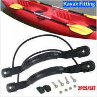 Rubber Boat Luggage Side Mount Carry Handles Fitting For Kayak Canoe Boat Y1N1
